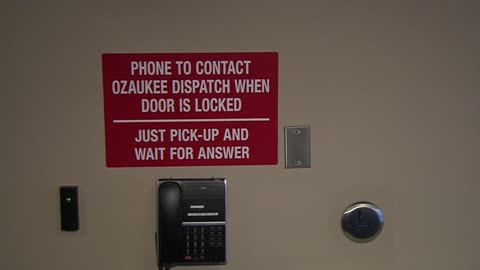 Grafton Police Department installs safety measures in entrance...